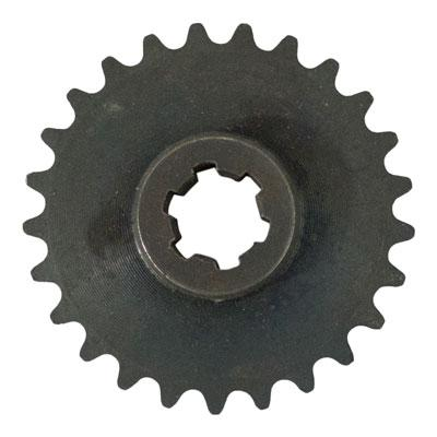 Front Sprocket 25-25 Tooth for Pocket Bike, Scooter, Mini Chopper with #25 Chain - VMC Chinese Parts