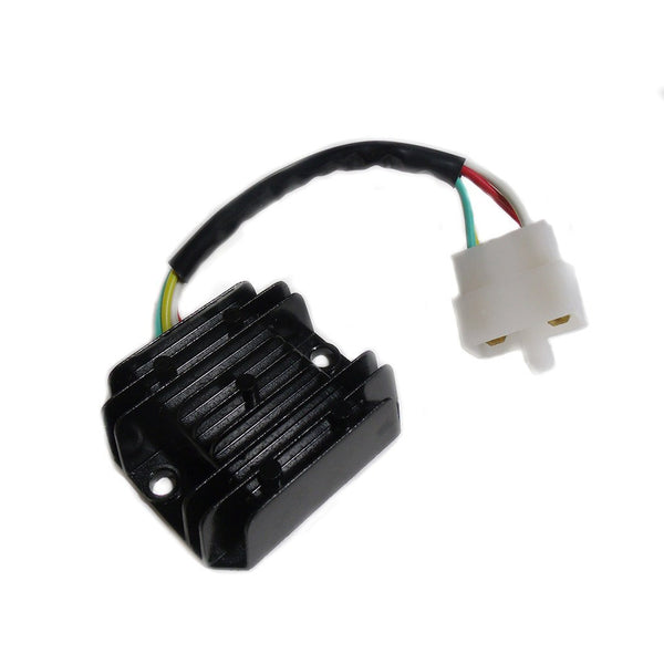 Voltage Regulator - 4 Wire / 1 Plug for Dirt Bikes Scooters ATVs - Version 40 - VMC Chinese Parts