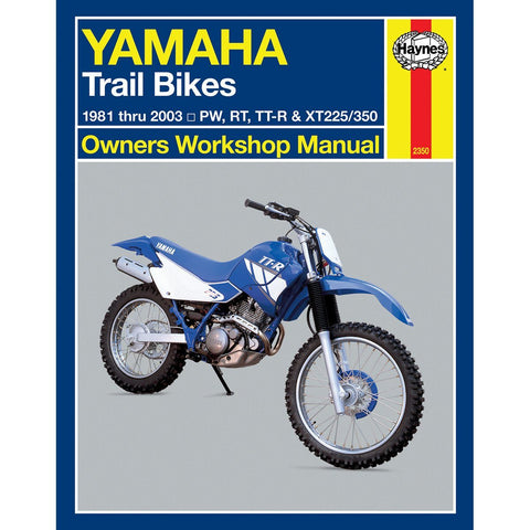Haynes Yamaha Trail Bike Manual - 2350 - Chinese Clone PW50 PW80 - 1981-2003