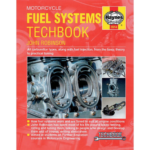 Haynes Motorcycle Fuel Systems Manual - 3514 - Chinese Japanese Carburetor & Fuel Injection