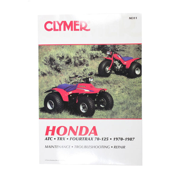 Clymer ATV Manual - M311 - Honda - 1970-1987 - E22 Engine - VMC Chinese Parts