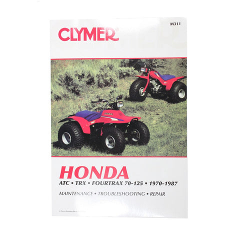 Clymer ATV Manual - M311 - Honda - 1970-1987 - E22 Engine