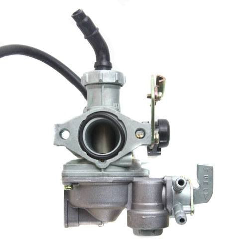 Chinese ATV PZ22J Carburetor with CABLE CHOKE - Version 20