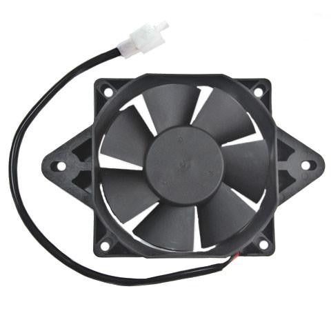 Radiator Cooling Fan for Water Cooled 200cc, 250cc ATVs, Go-Karts - Version 3 - VMC Chinese Parts