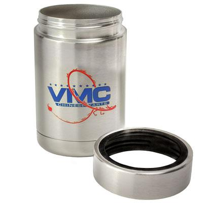 Stainless Steel 12oz Can Holder w/ Double Wall Insulation