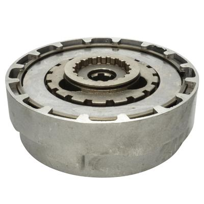 Clutch Assembly - 18 Teeth - 50cc-125cc Semi Auto - Version 3 - VMC Chinese Parts