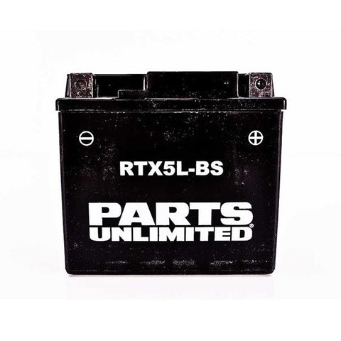 Battery 4Ah 12 Volt AGM Maintenance Free - [RTX5L-BS] Parts Unlimited