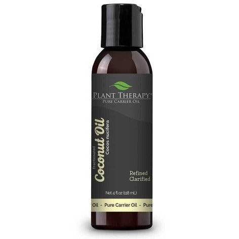 Plant Therapy - Coconut (Fractionated) Carrier Oil FCO 4 oz - Grassroots Baby
