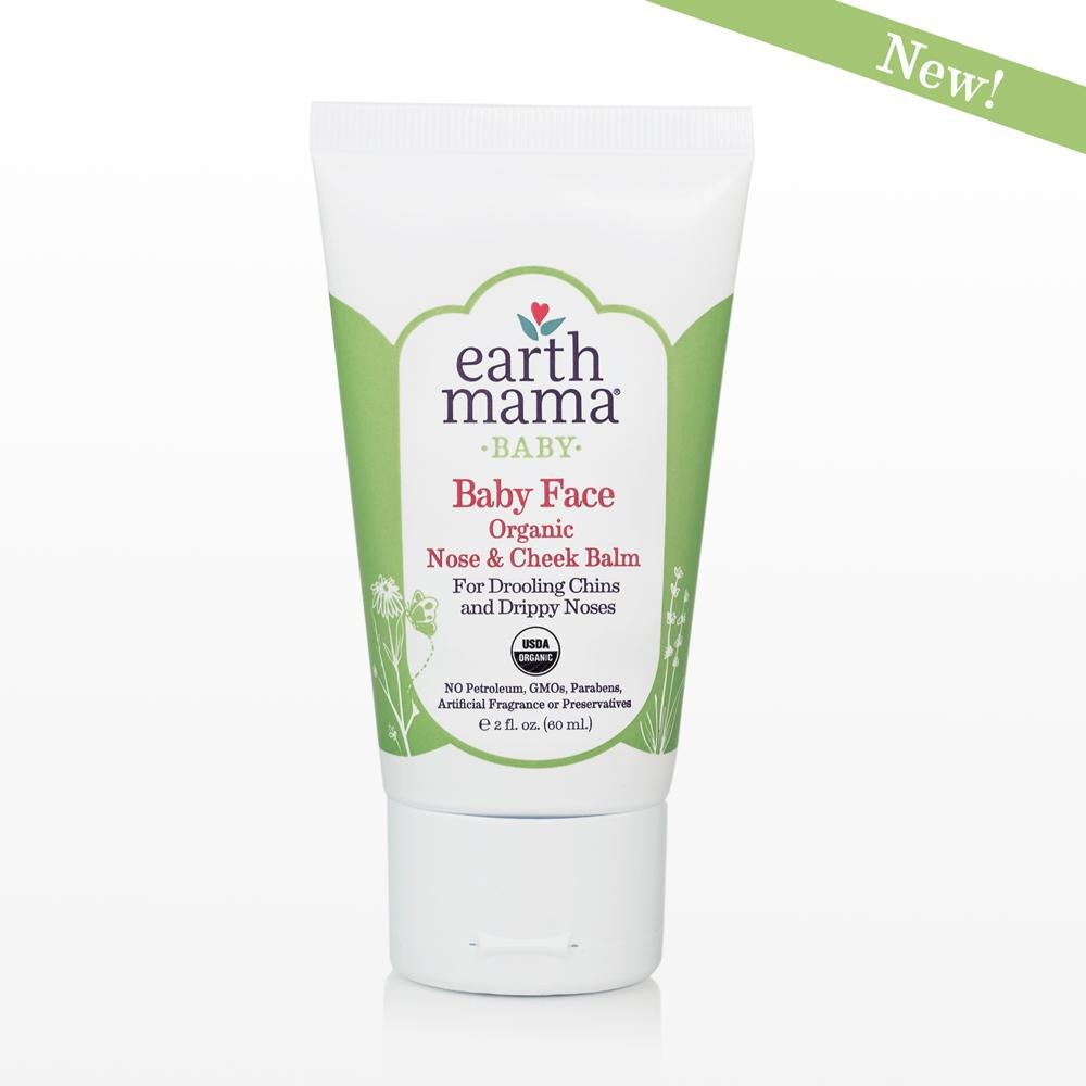 Earth Mama - Baby Face: Nose and Cheek Balm - Grassroots Baby