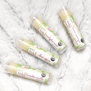 Green + Lovely - Nature's Silk Lip Balm - Chai Spice - Grassroots Baby
