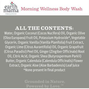 Earth Mama - Morning Wellness Body Wash - Grassroots Baby