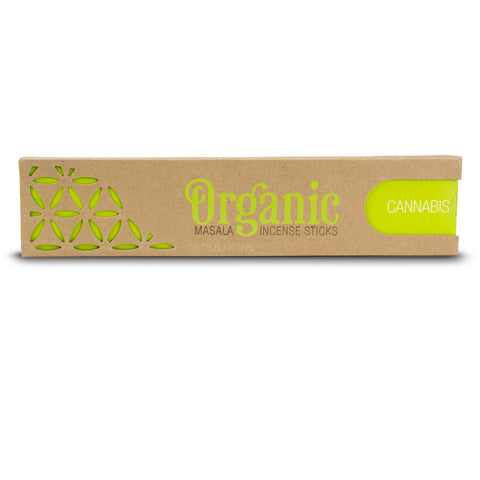 Cannabis - Organic Goodness Masala Incense Sticks