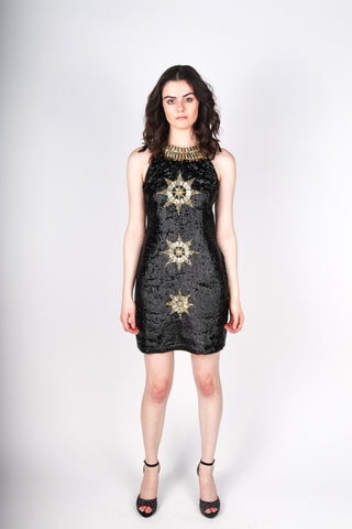 Any Old Iron Gold Star Dress