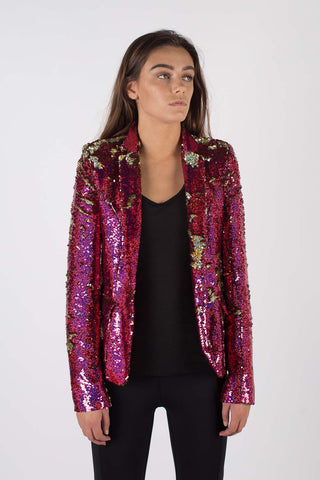 Any Old Iron Pink Hologram Jacket