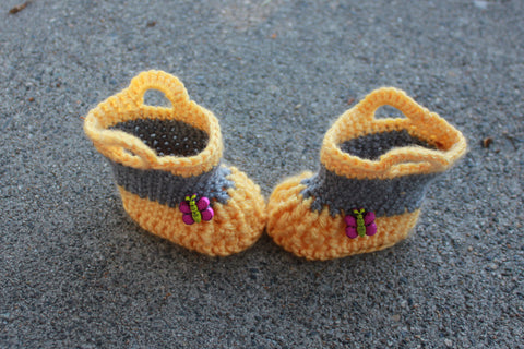 Crochet Baby Rainboots - Baby Booties - Boots - Baby Rainboot - Unisex Baby Shower Gift - Baby Shoes