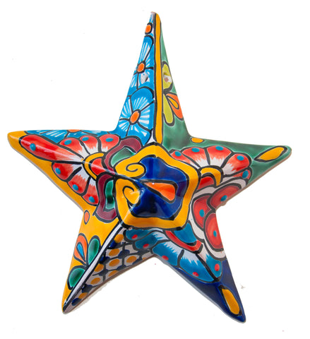 Talavera decorative star