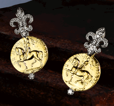 Joan of Arc Earring Collection