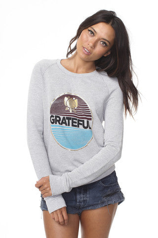 Grateful Sweatshirt - Spiritual Gangster, Spiritual Gangster - Pronounce Activewear
