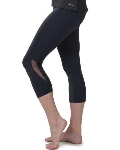 Noir - Graphic Long Legging by Onzie Flow