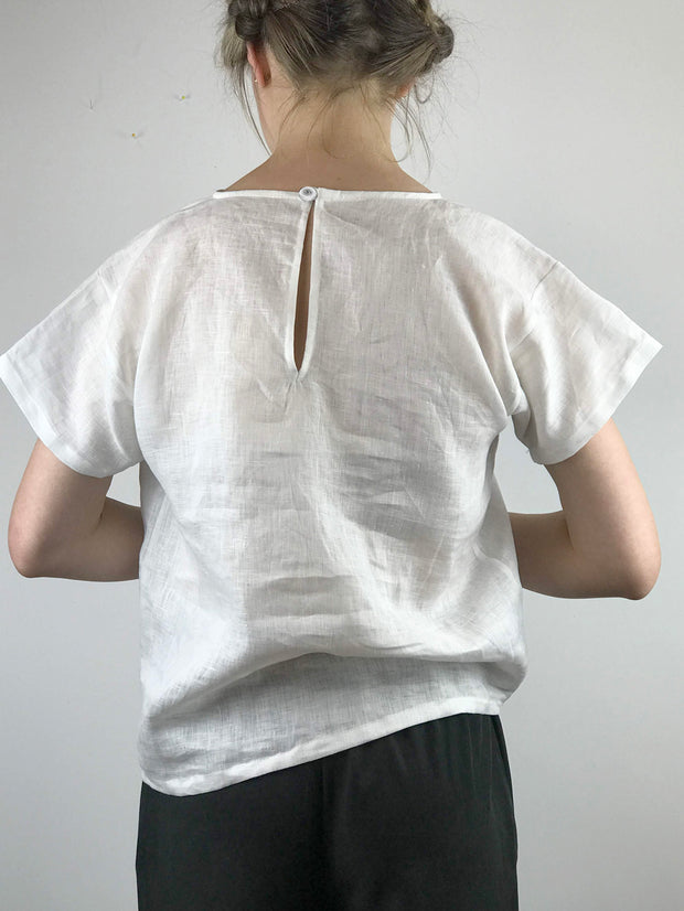 Tee for Two in 100% Linen