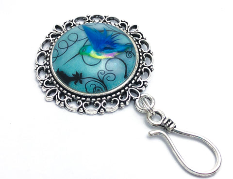 MAGNETIC Hummingbird Portuguese Knitting Pin- Gift for Knitters
