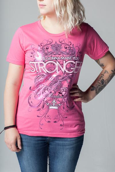 Stronger Ladies Tee - MandisaOfficial