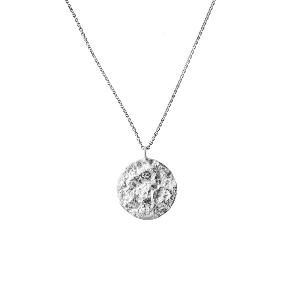 The Baby Moon Pendant (Sterling Silver) Pascale James Jewellery