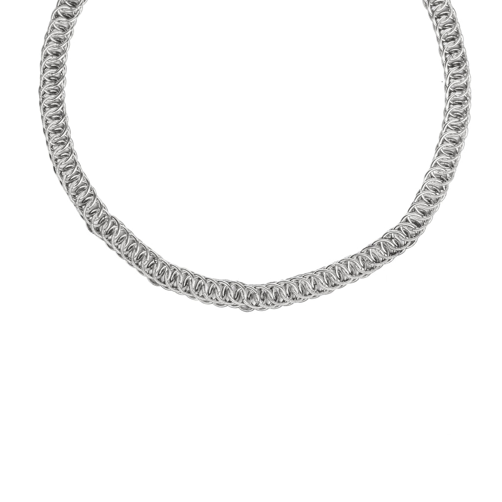 The Water Series Chain Necklace (Sterling Silver) Pascale James Jewellery