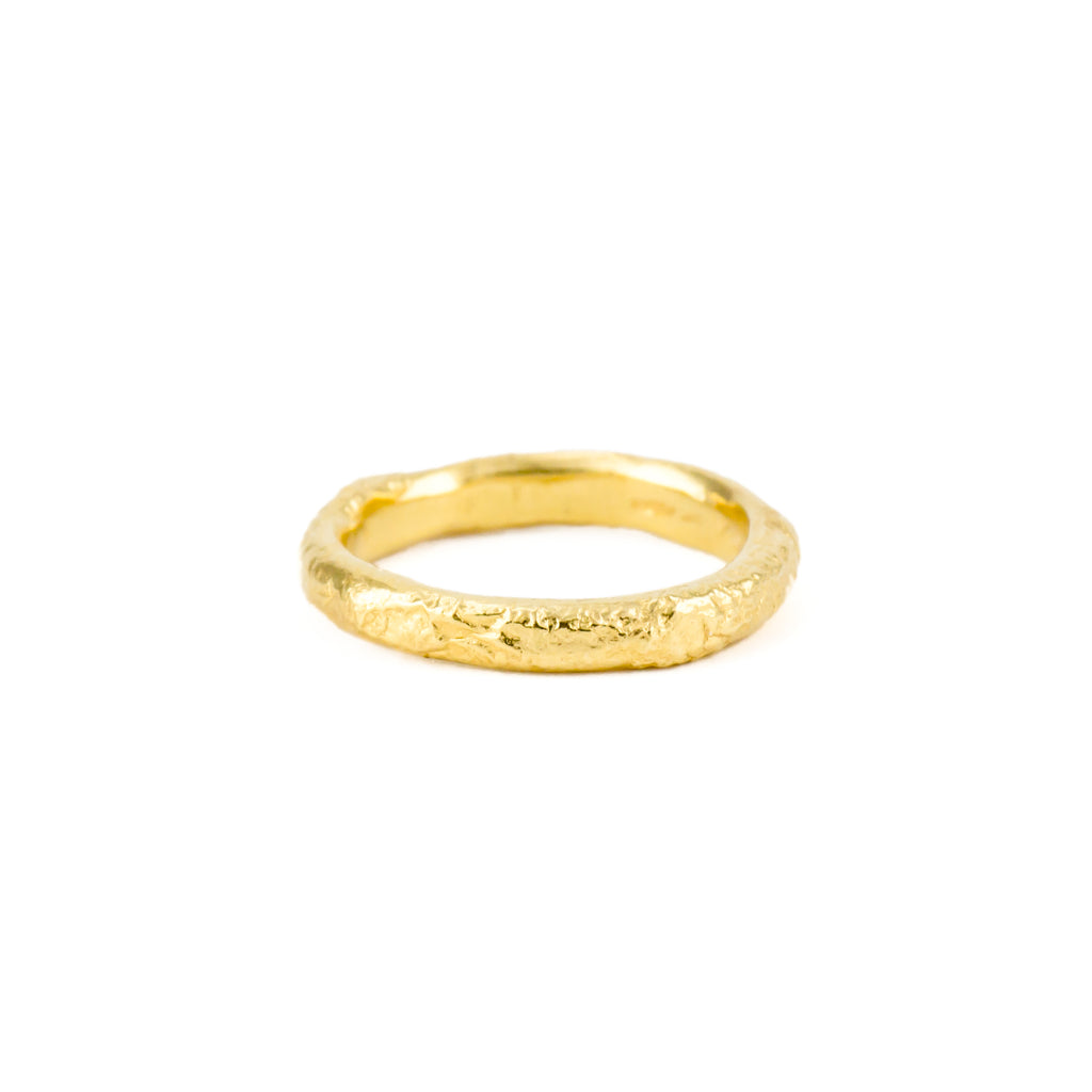 Glacial Band Narrow (22ct Gold Vermeil)