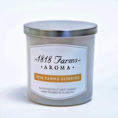 Candles (8.4oz Tumbler Jar - 1818 Farms Sunrise)