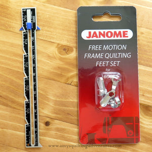 Janome Frame Quilting Foot Set- ruler foot