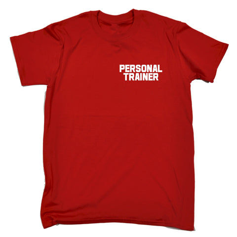 123t Men's Personal Trainer ... Breast & Back Work T-Shirt