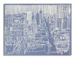Josette Urso - Dot Blue City