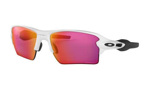 Oakley Flak 2.0 Polished White w/ Prizm Ruby