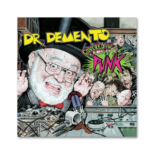 """Dr. Demento Covered in Punk"" CD Digipak"