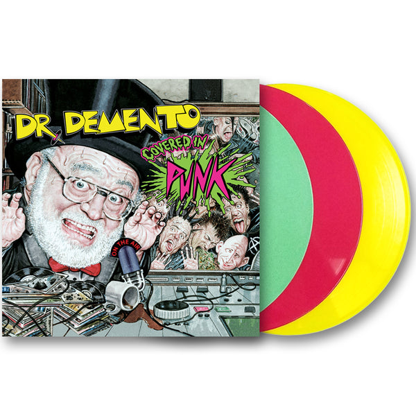 """Dr. Demento Covered in Punk"" Vinyl LP"