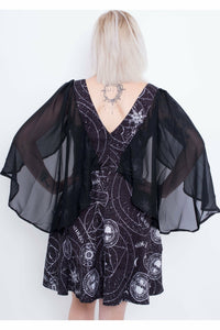 Lucille Cape Dress