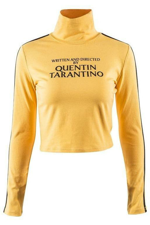 Written and Directed by Quentin Tarantino Crop Top