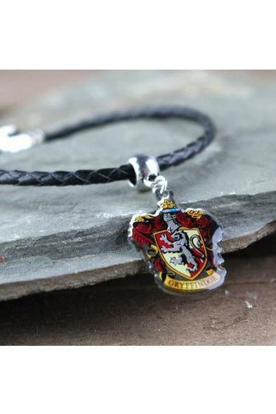 Harry Potter Charm Gryffindor Crest (Silver Plated) - Soft Kitty Clothing
