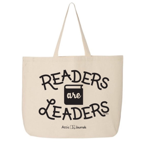 Readers Are Leaders Canvas Tote 2018 Edition