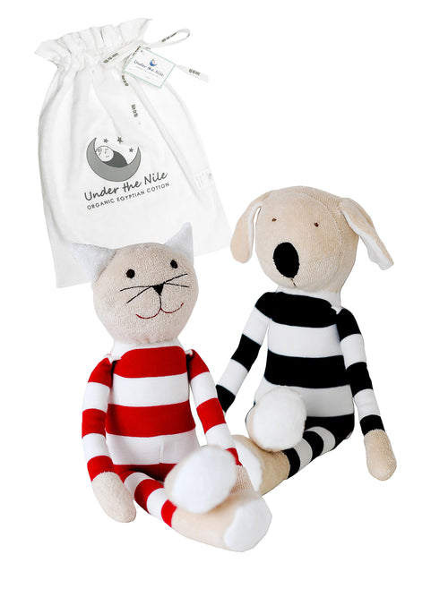 Tilly & Buddy Stuffed Toy Gift Bag Set