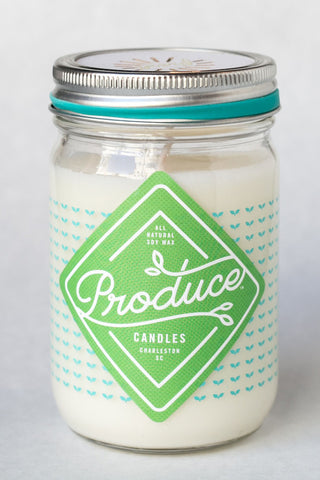Produce Candles - Mint - Spring Seasonal Special