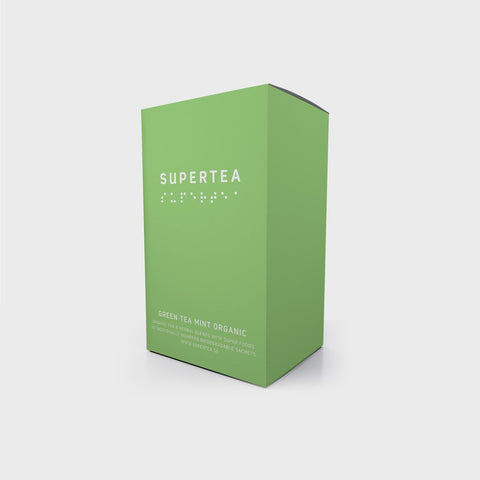 Supertea Green Tea Mint Organic