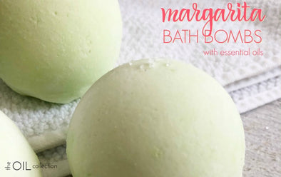 Margarita Bath Bombs with Essential Oils