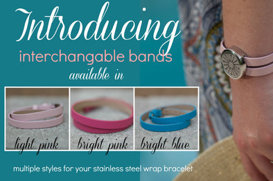 Introducing our newest product - Interchangeable bands