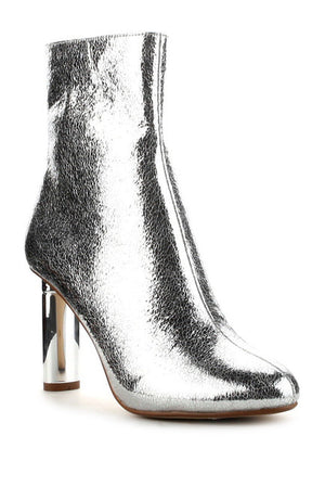 Gold or Silver  Bootie