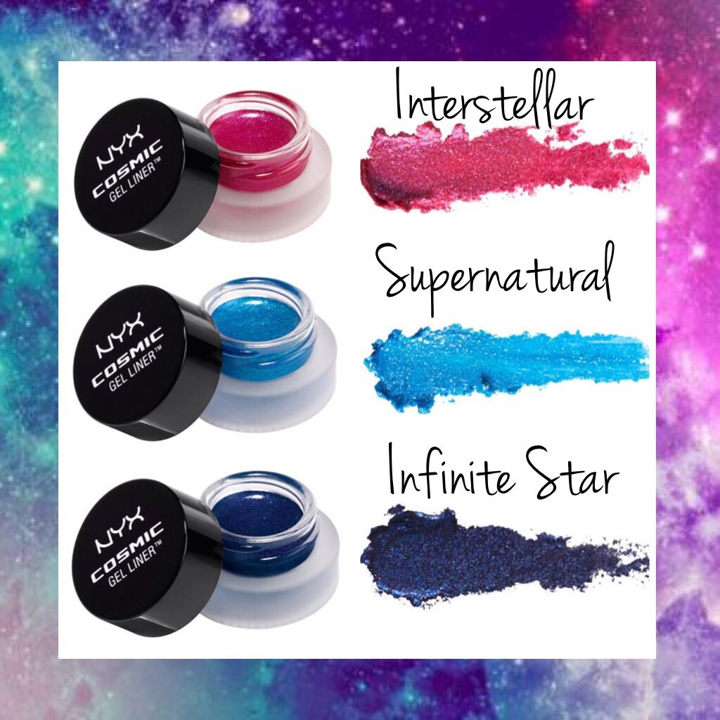 WHOLESALE NYX COSMIC GEL LINER ASSORTED COLORS - 50 PIECE LOT