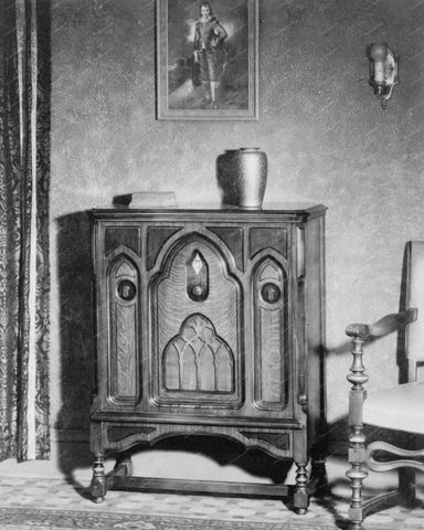 Console Radio 1929 Vintage 8x10 Reprint Of Old Photo
