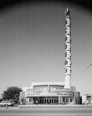 Academy Movie House Theater 8x10 Reprint Of Old Photo