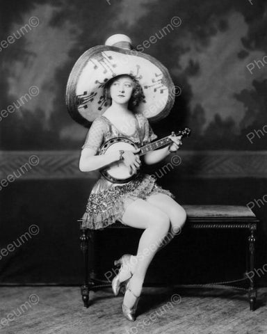 Ada May Weeks Show Girl Vintage 8x10 Reprint Of Old Photo